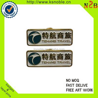 custom company logo sign tag lapel pin China