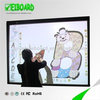 Touch screen interactive whiteboard with digital pen for e learning in school