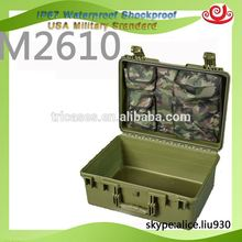 Factory price !!PP plastic precision instrument shockproof protective hard flight case M2610