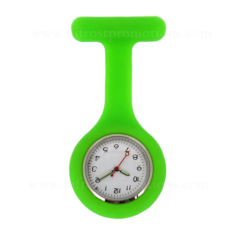 Hot Sale Brooch Nurse Pocket Watch Digital Silicone Nurse Watch