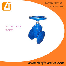 DIN F4 NRS cast iron gate valve,stem gate valve, sluice gate valve