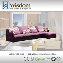 Economical Living Room Furniture Two Seat Sofa