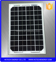 10W Monocrystalline Solar Panels High Efficiency Solar Cell For Home Use