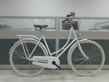 Classic white Cheap Single speed Steel dutch bike/lady bike/ city bicycle hot sell in Europe