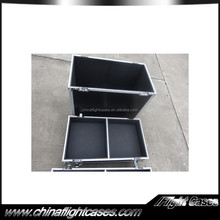 top quality pro audio speaker flight cases with caster board and wheels
