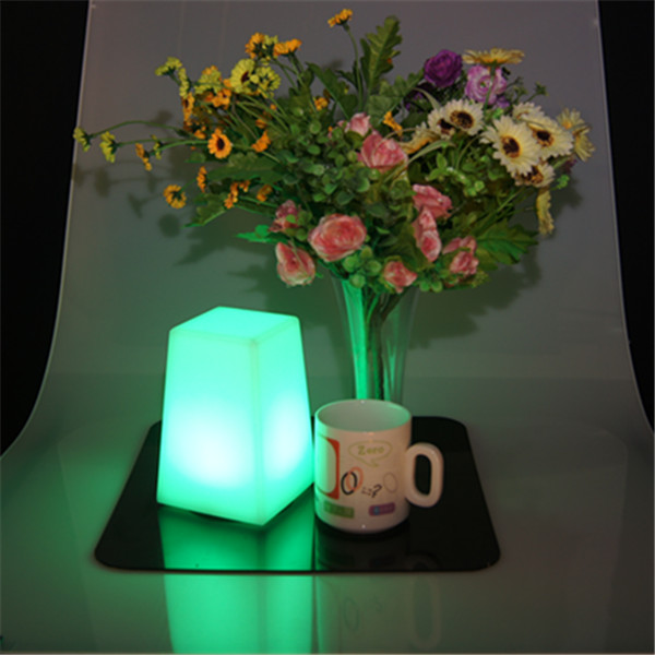 New hot sale led glowing colorful cute table decoration for home