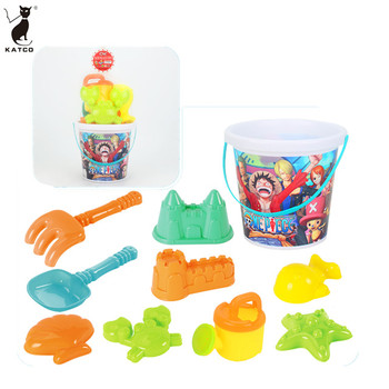 Wholesale Crazy Selling Eco-friendly  Beach Plastic Toys Summer Sand Tools Toys Set for Kid.