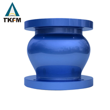 TKFM SG iron 420/12 xpoxy coated non slam astm a216 wcb water line check valve for ozonator