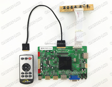 2HDMI+VGA+DP+Audio 4K LCD controller board support LQ156D1JW02/04/031 LCD controller board