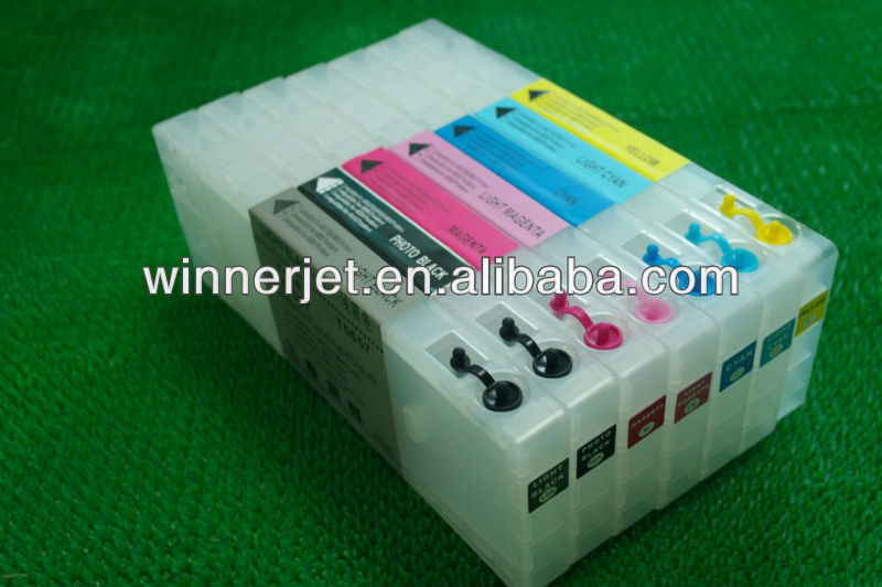 for epson ink cartridges 9600 refillable with funnels