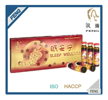GMP,HACCP,ISO Certification Function health food- improve sleep well tonic drink
