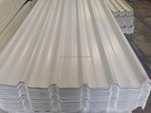 Asa pvc trapezoid roofing sheet/ colorful weather resistance roofing sheet for factory, warehouses etc.