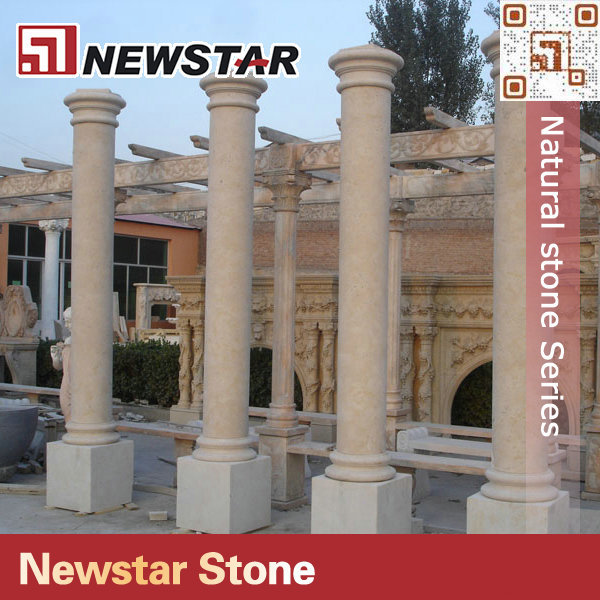 Newstar stone exterior decorative column wraps view for Exterior decorative columns