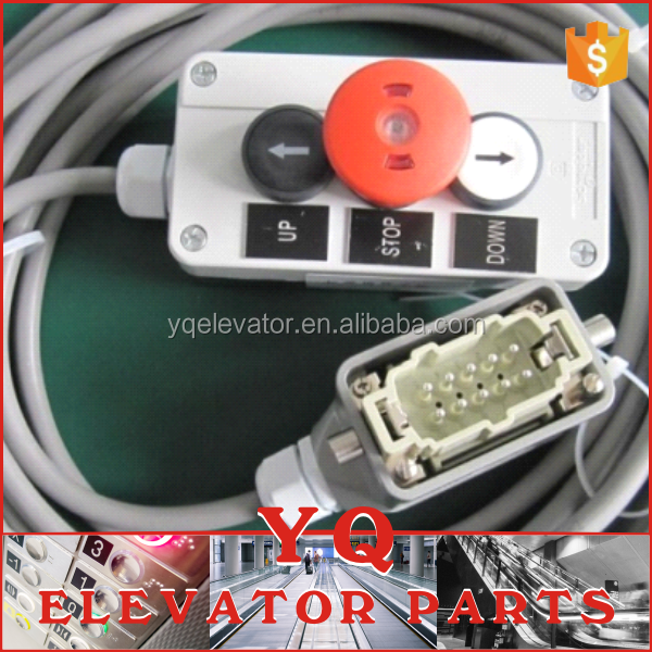 KONE elevator inspection box, lift checking box