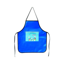 Eco-friendly PVC plastic apron for kids