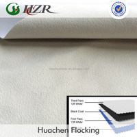 Micro Fiber Suede Fabric with 3 Pass Blackout Coating for Curtain