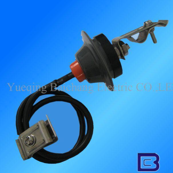 New design high quality low price Z-100 500V 2.5-5.0KA low voltage lighting surge arrester