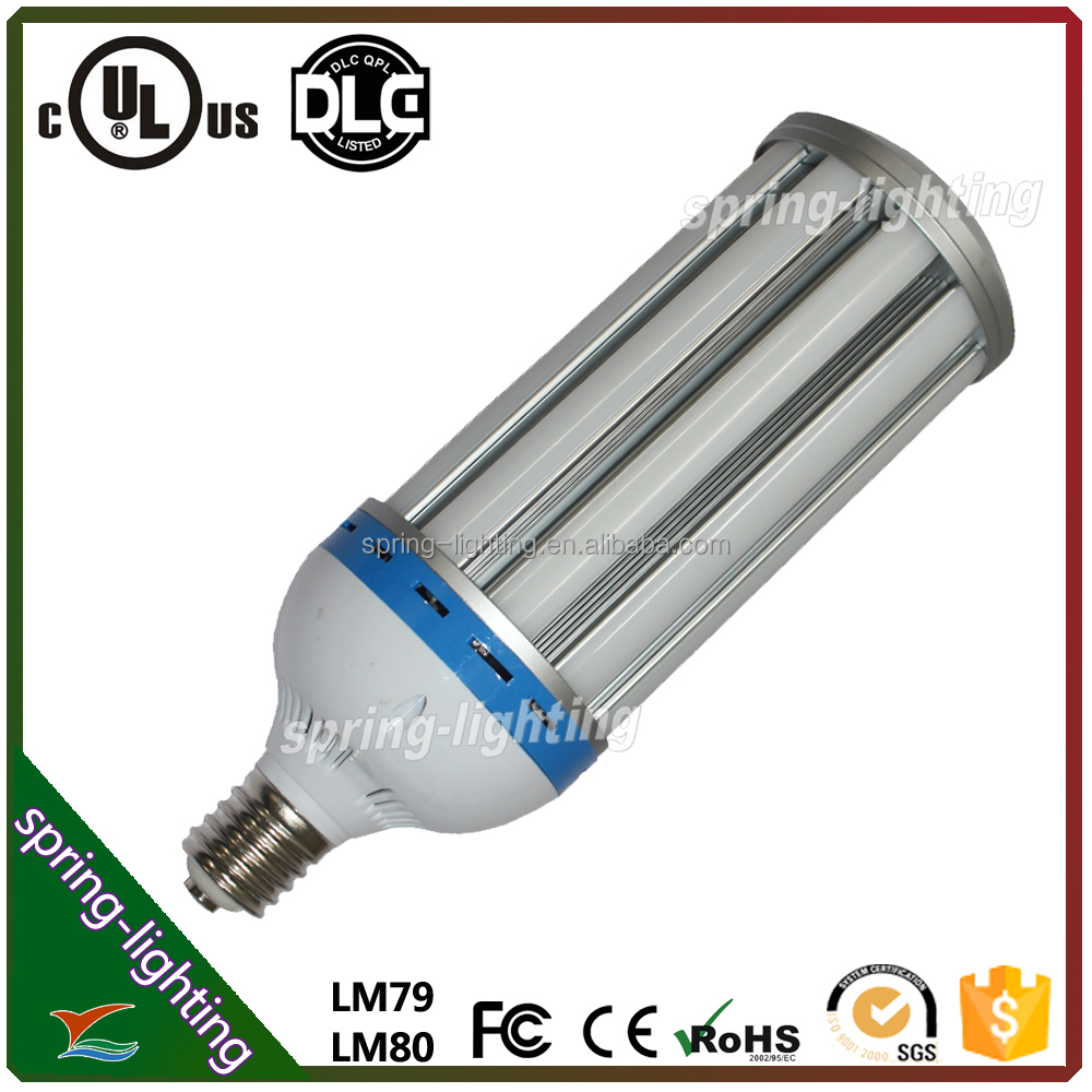 UL CUL listed 120W E40 Base No Dimmable 3500K LED corn light used in both commercial high bay and residential walkways