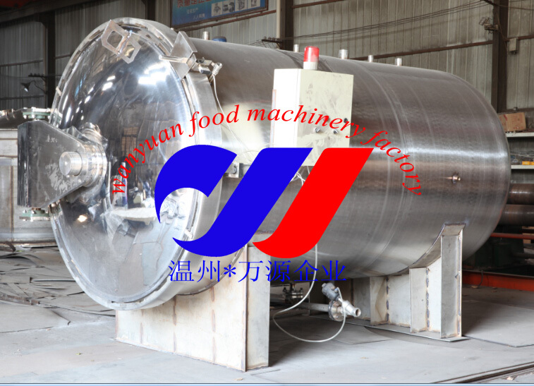 sterilization autoclave for pureed vegetable mixture