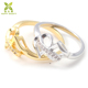 China Jewelry Supplier Wholesale Infinity Love Symbol Zirconia Ring Design for Wedding Engagement