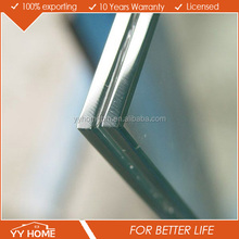 clear or colorful 6mm,15mm thickness tempered laminated glass with certificate