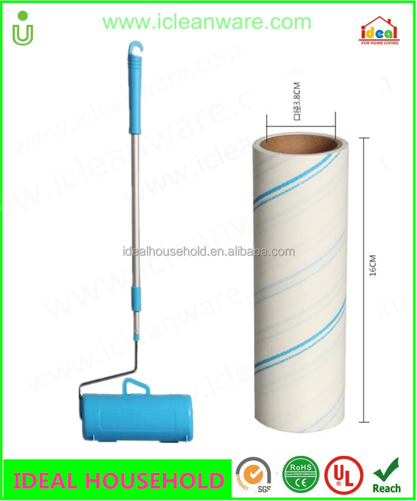 HOT SAIL IN Japan Korea I'M CLEANER 16CM Flexible 58-85cm 2 SECTION ROLL CLEANE Lint Roller , Lint Remover, PETS hair cleaning