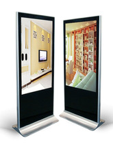 55inch indoor floor standing multimedia digital signage android wifi network lcd advertising display
