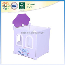 Mini mdf diy educational children gift miniature toys house