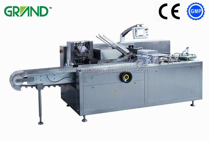 High Speed Cartoning Machine for cosmetics