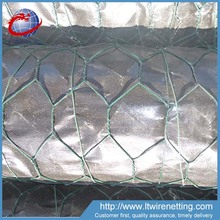 Chicken Preservative 1/2'' 1/4'' 3/4'' green color pvc coated poultry wire netting