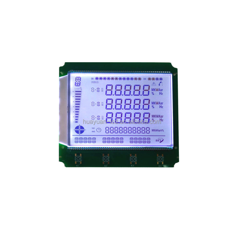 TN Lcd display module customized square lcd display