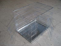 XXL large double doors heavy duty metal wire dog crate
