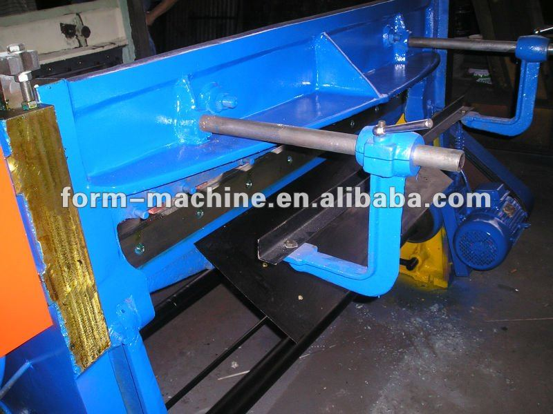 High speed Mechanical Power Guillotine Shearing machine tools