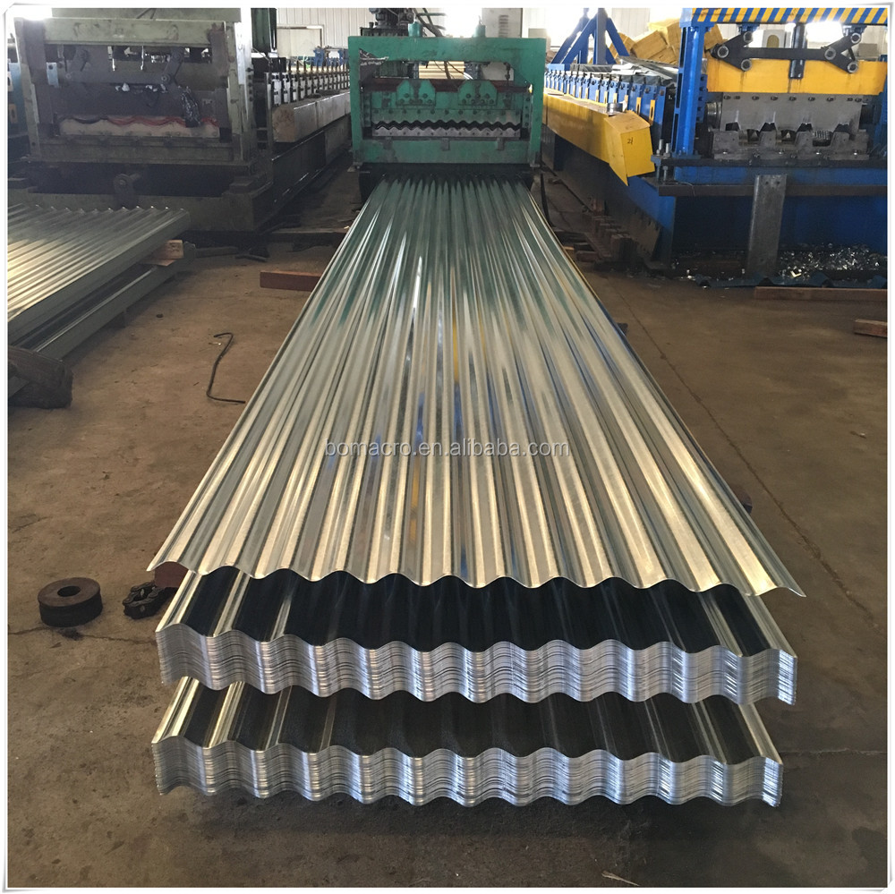 Metal Roofing All Types Galvanized Corrugated Steel Sheet/Corrugated Galvanzied Steel Sheet