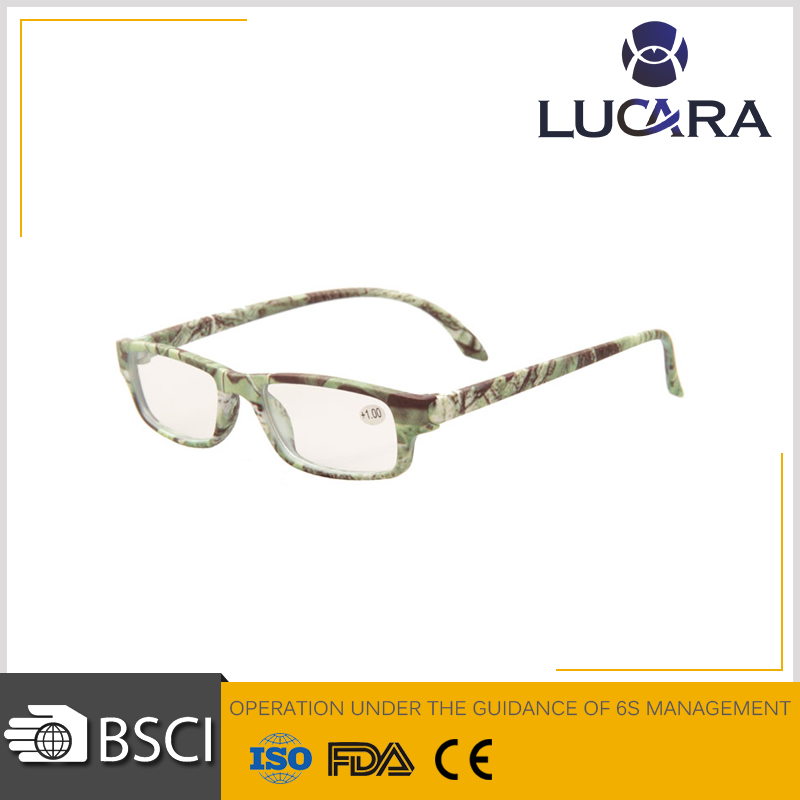 Classic bule style colorful frame reading glasses on line anti blue light glasses