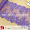 HC-1419 Hechun wholesale high quality crystal eyelash beaded lace trim