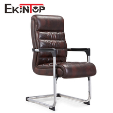 2017 black office reception chair without wheel