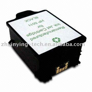 Remanufactured Black Inkjet Cartridge for HP C5011D (#14) BK PIG