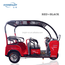 Adult three wheeler India Tuk Tuk passenger motorcycle electric 3 wheel taxi tricycle for sale