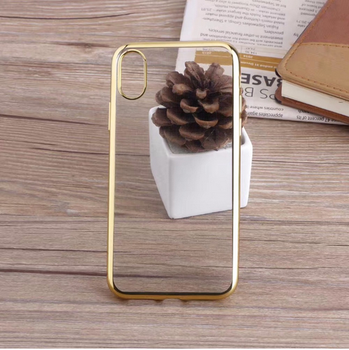 Newest product transparent clear shockproof tpu case phone cover for iphone X