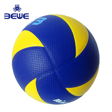2018 new Factory 4 Pillar training soft sports ball TPU beach cloth promotion custom leather volleyball