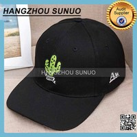 100 % Cotton Brush Embroidery Logo Snapback Cheap Sun Visor Hat