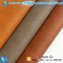 Superior pu material elastic pu artificial leather for bags