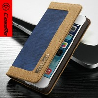 Caseme Wholesale Phone Case for iPhone 5s, for iPhone 5 Leather Case, Book Cell Phone Case for iPhone 5s