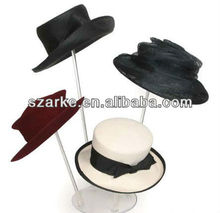 Clear Acrylic Hat Display Stand-4 Tiers Hat Holder