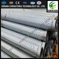 219mm Low carbon steel water well drilling screen pipe