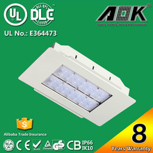 DLC UL/cUL Certified IP66 LED Canopy Light Retrofit With TM21 Report 62000 Hours Lifespan