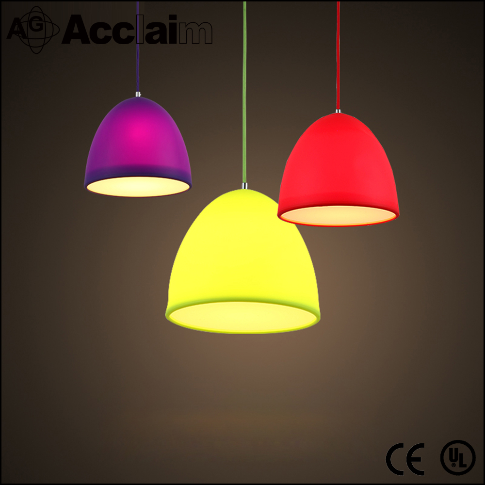 Simple modern creative arts living room drop lamp contemporary silica gel ceiling light