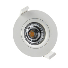 2700k 3000k warm white gyro led cob downlight new design for 2018 norway dimmable 9w recessed ceiling spot lamp with 83mm cutout
