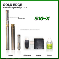 New Upgrate 510-X e cig with refill clearomizer 510-x atomizer